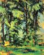 trees in the Jas de Bouffan