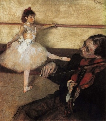 Ballet Dancer and Violinist